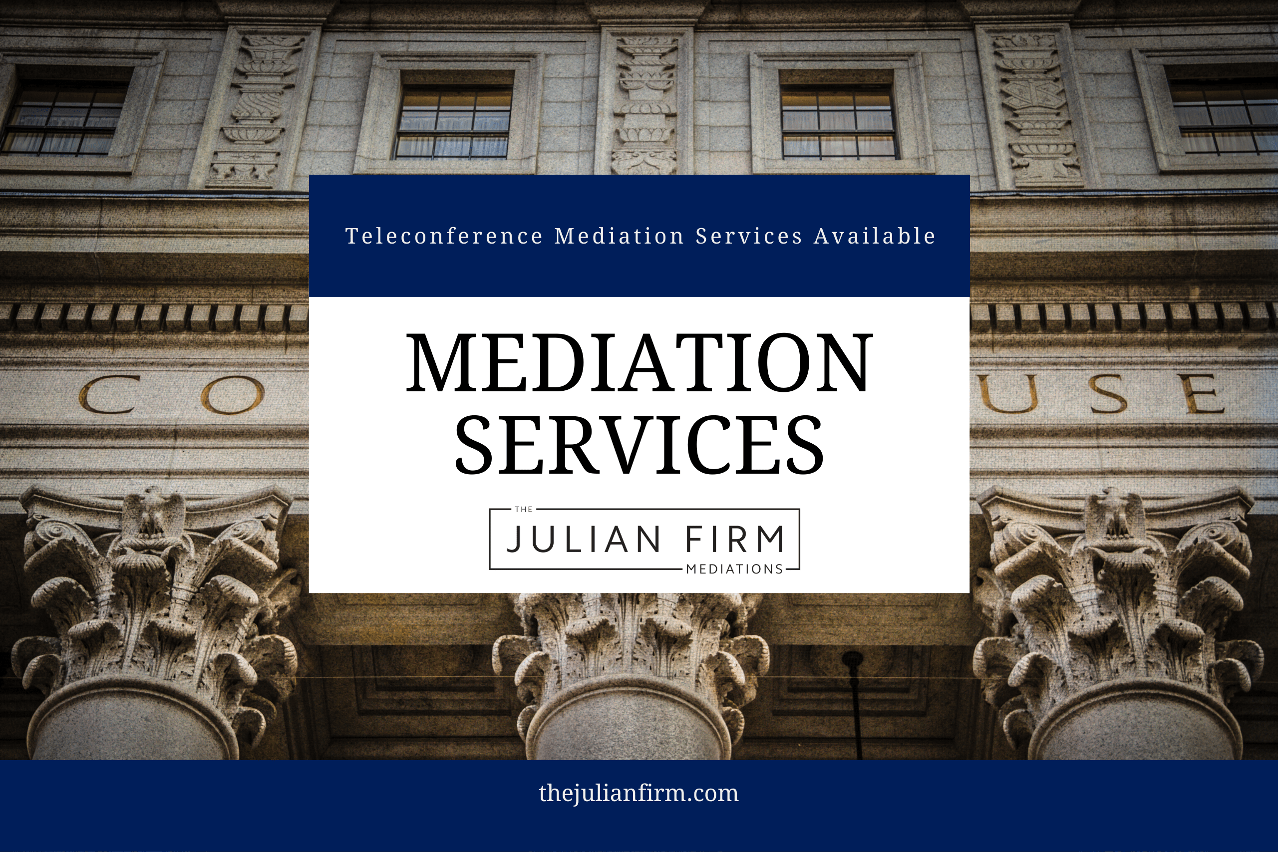 Teleconference Family Law Mediation Services Available