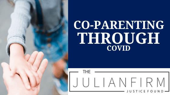 coparenting through covid